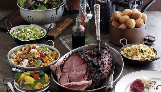 food for Christmas dinner