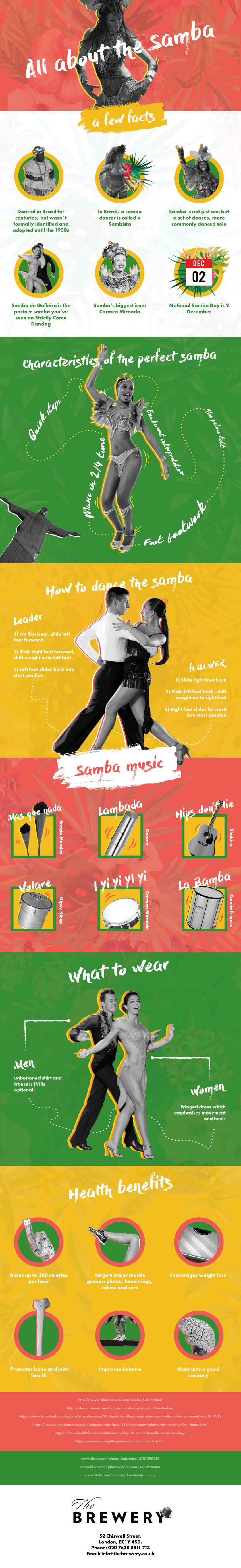all you need to know about samba dancing