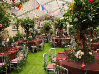 English Country Garden Summer Party at The Brewery
