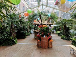 Aloha summer party at The Brewery in London