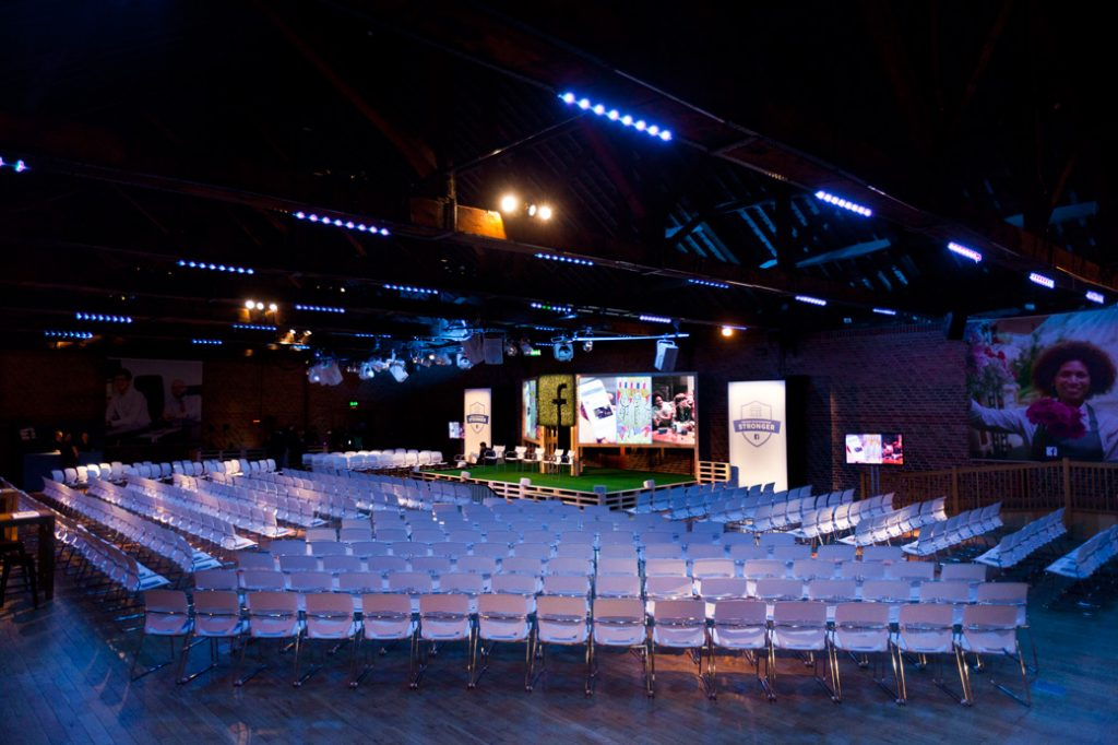 Conference auditorium with state of the art AV setup