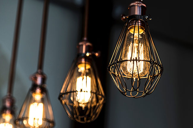 Industrial design bulbs