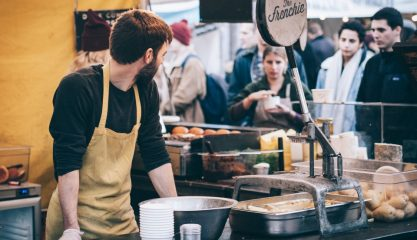 London food festival event stall