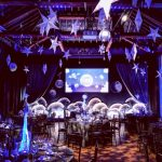 Moon themed Christmas Party at The Brewery Venue in London