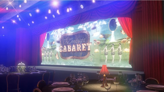 Christmas Party at The Goodnight Cabaret