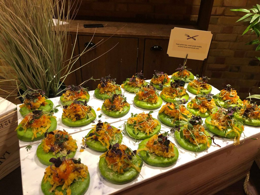 High end event catering