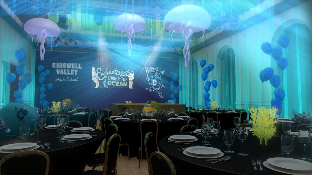 Upper Sugar Room - Enchantment Under The Ocean - Christmas 2020